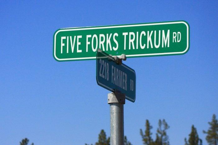 five forks trickum rd.