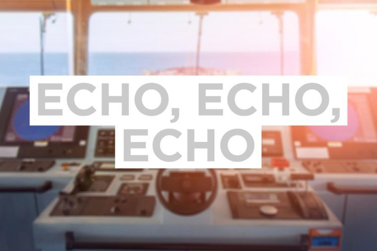 Echo, Echo, Echo