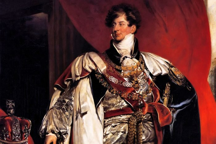 George IV 1762-1830, King of Great Britain 1820-1830. Portrait as prince Regent by Thomas Lawrence 1822