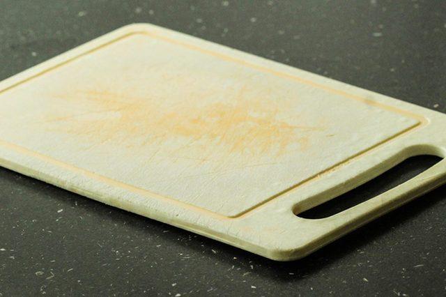 plastic cutting board