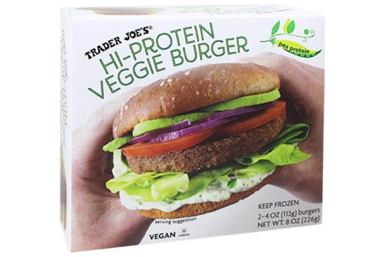 Hi-Protein Veggie Burgers