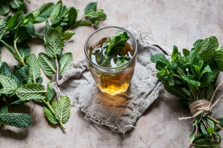 Traditional mint tea/toned photo