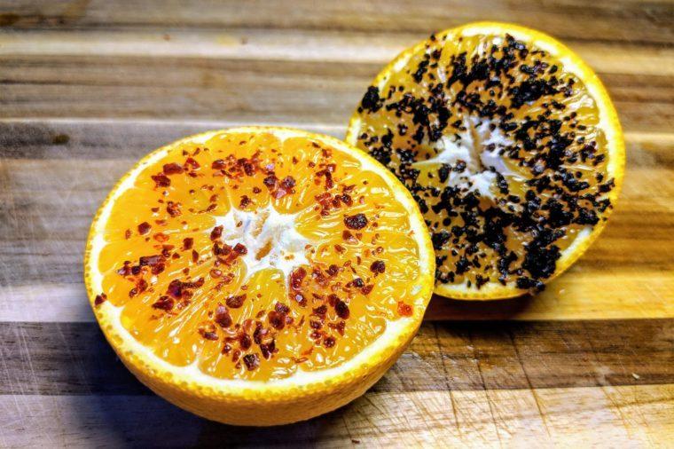orange chili flakes