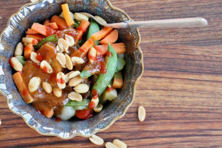 Peanut Asian Rice Bowl