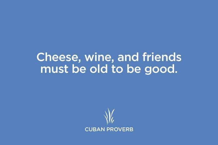 cuban proverb