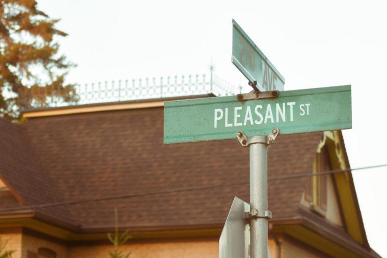 Pleasant St.