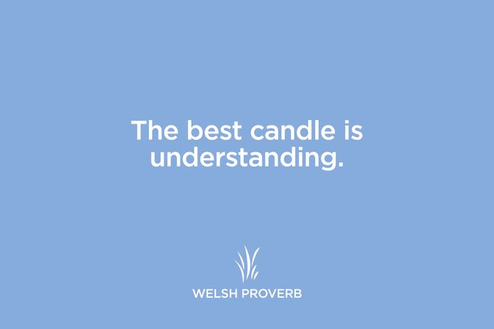 welsh proverb