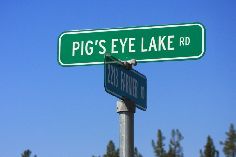 Pig's Eye lake Rd.