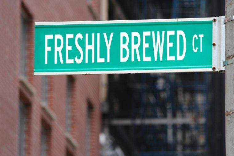 Freshly Brewed CT