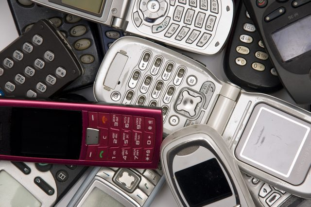 used old Cellphones
