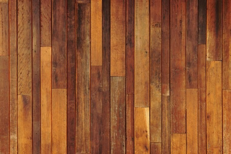 big old wood plank wall / wood wall background