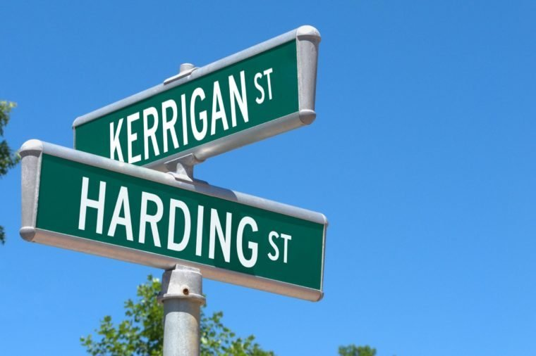 Image result for street name