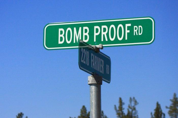 Bomb Proof Rd.