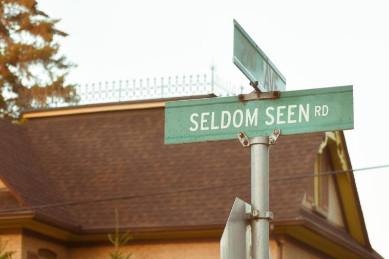 Seldom Seen Rd.