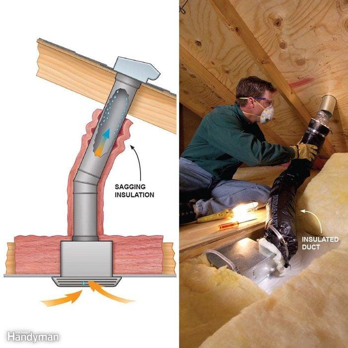 investigate insulate and run the fan longer