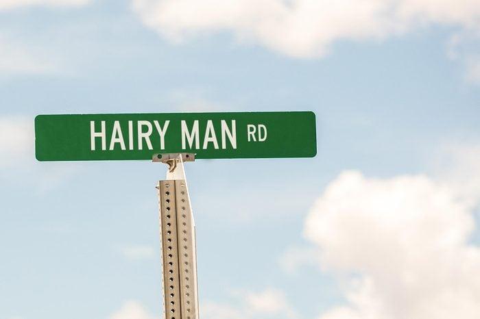 Hairy Man Rd.