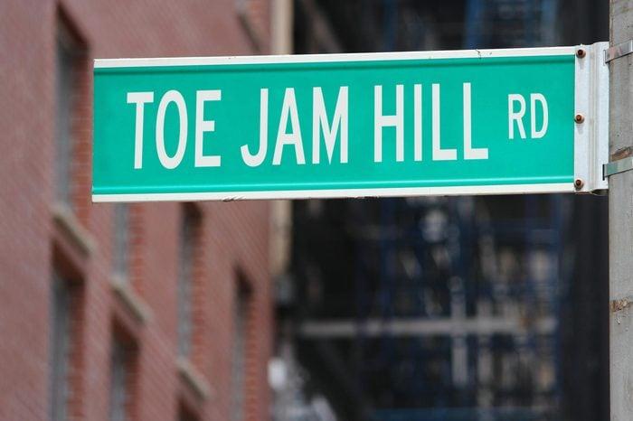 Toe Jam Hill Rd.