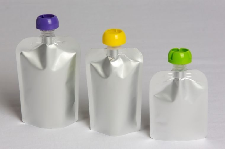Sprout pouch bottle