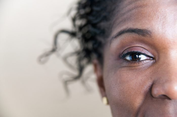 Close up portrait of woman