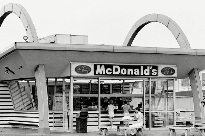 One of the last remaining old style red-and white McDonald's stands in Beaver Falls, Pa., in Sept. 1985. It is one of six of the old style McDonald's restaurants still operating in the United States