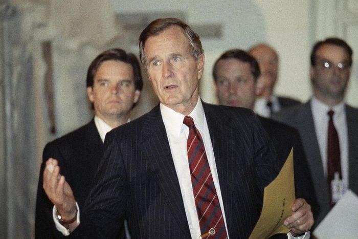 George H W Bush Washington 1989, Washington, USA