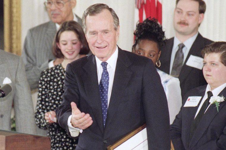 George H W Bush Washington 1993, Washington, USA
