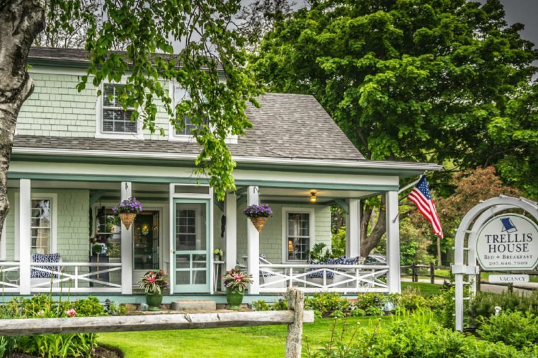 Maine bed and breakfast