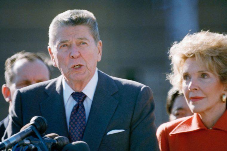 Nancy and Ronald Reagan Tokyo 1989, Tokyo, Japan