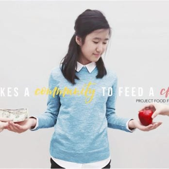 This High School Girl Is Helping Underprivileged Kids from Going Hungry—with Her Cell Phone