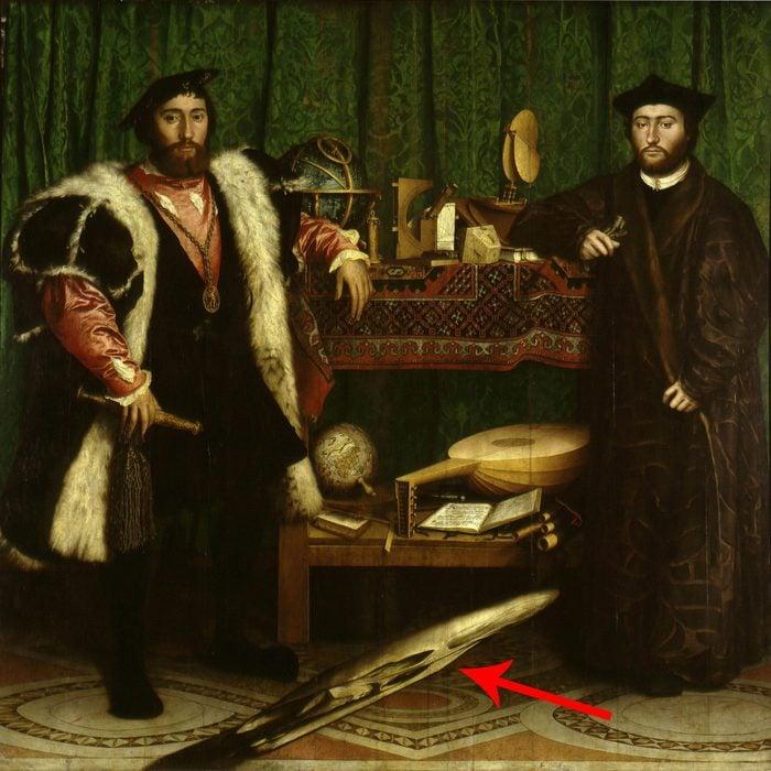 The Ambassadors Jean de Dinteville