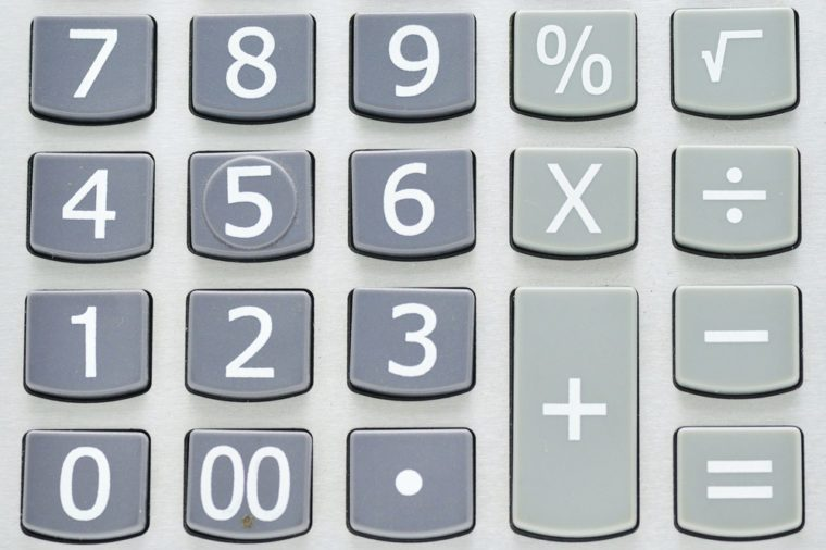 This is a num pad of calculator