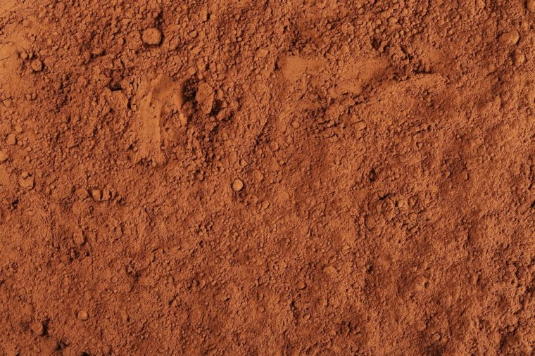 cocoa powder background and texture
