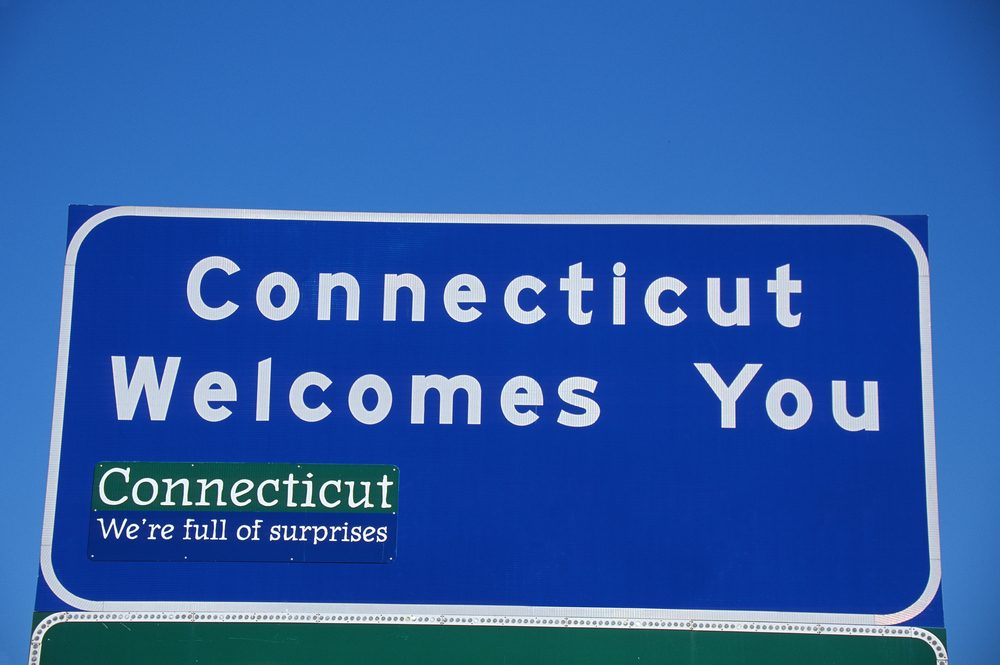 Welcome to Connecticut Sign