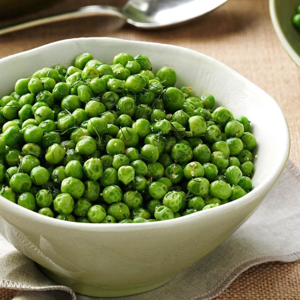 dill chive peas