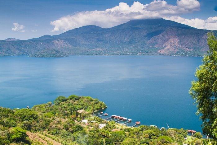 Coatepeque lake, Santa Ana, El Salvador, Central America