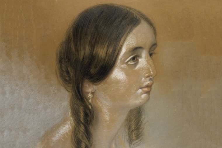 Emily Bronte This Portrait is Thought by Some to Be of Emily On Circumstantial Grounds 1818 - 1848