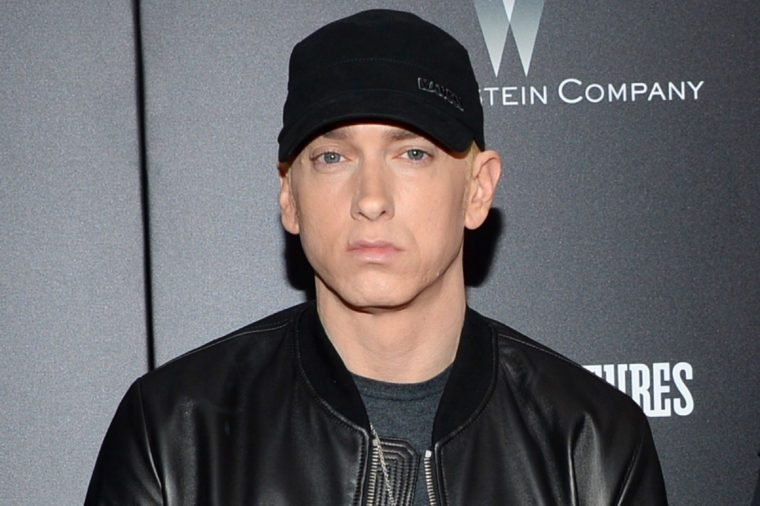 "Eminem attends the premiere of ""Southpaw"" in New York"
