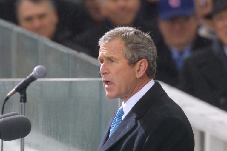 GEORGE W. BUSH INAUGURATION - Vice President Al Gore and Bill Clinton, Washington, America, 20/01/01