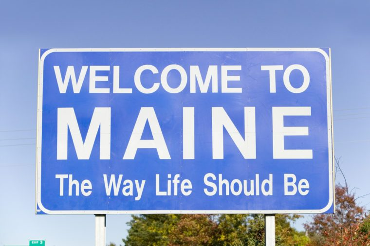 "Welcome to Maine, ""The Way Life Should Be"""