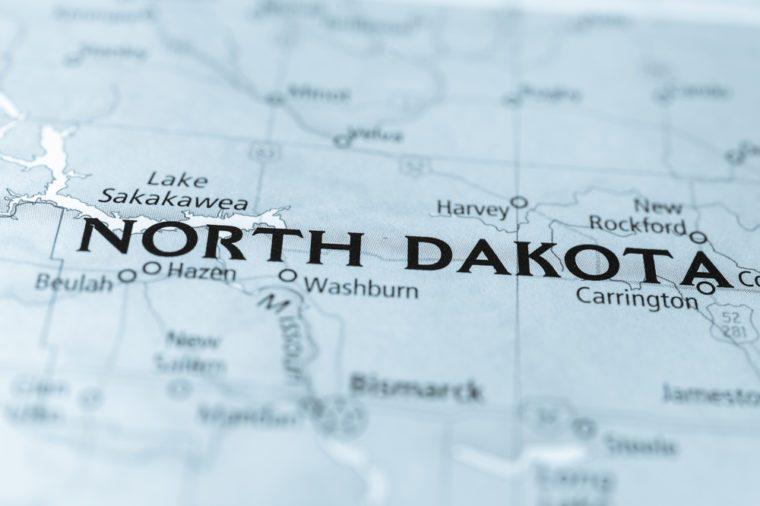 North Dakota State, USA.