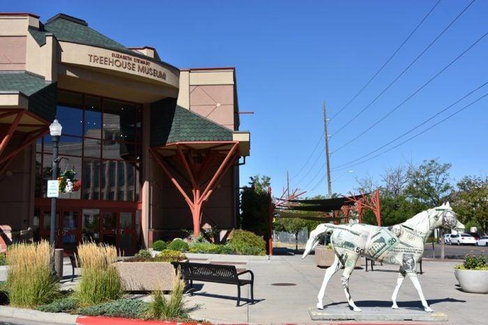 OGDEN, UT - AUG 24: Treehouse Museum in Ogden, Utah, as seen on Aug 24, 2017.