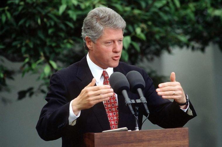 PRESIDENT BILL CLINTON PRESS CONFERENCE ON ECONOMIC PROGRESS - 1993