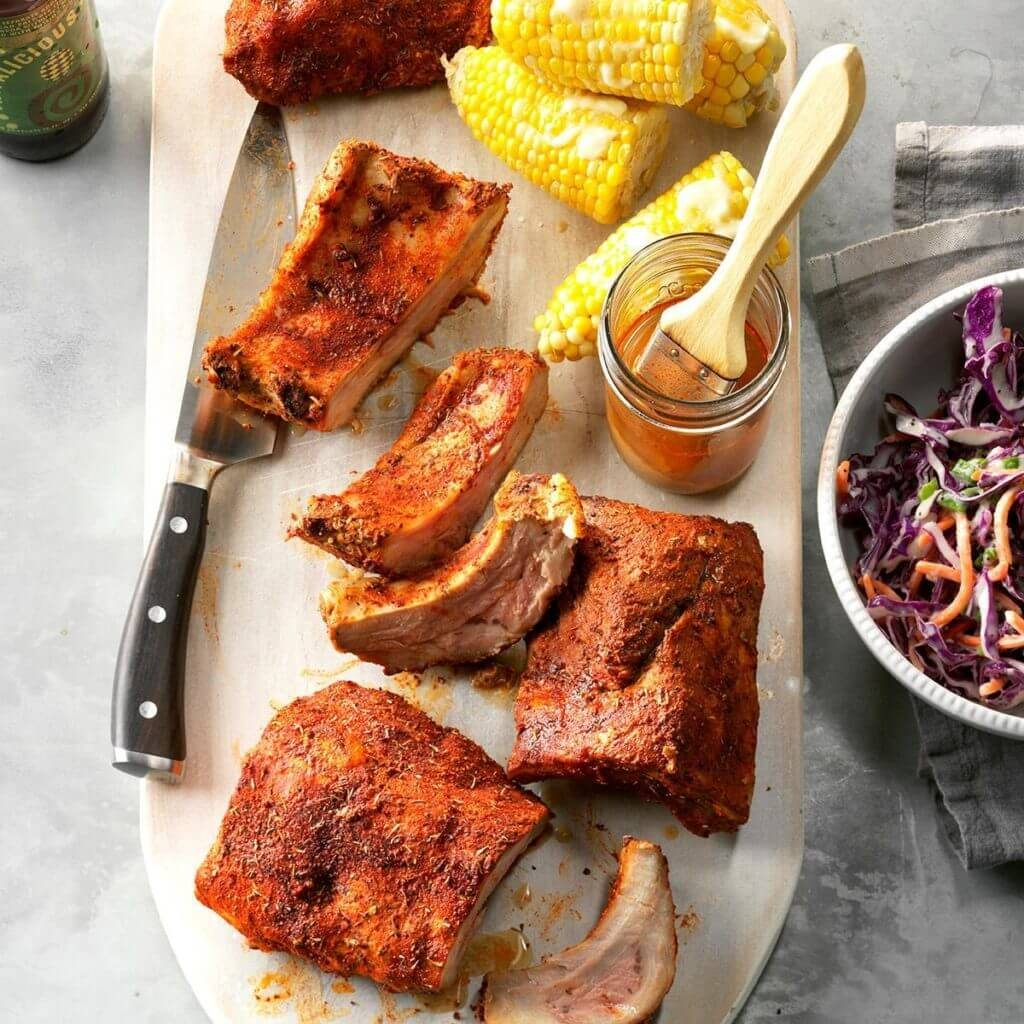 pressure cooker memphis style ribs