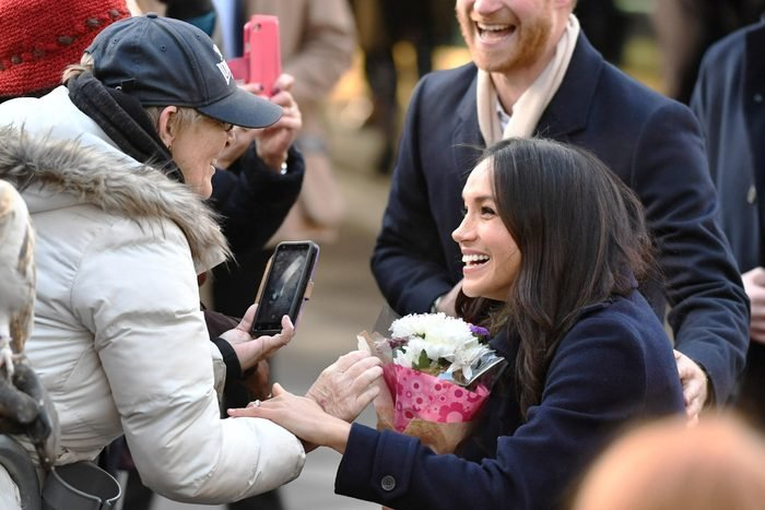 Prince Harry and Meghan Markle visit a Terrence Higgins Trust World AIDS Day Charity Fair, Nottingham Contemporary, UK - 01 Dec 2017