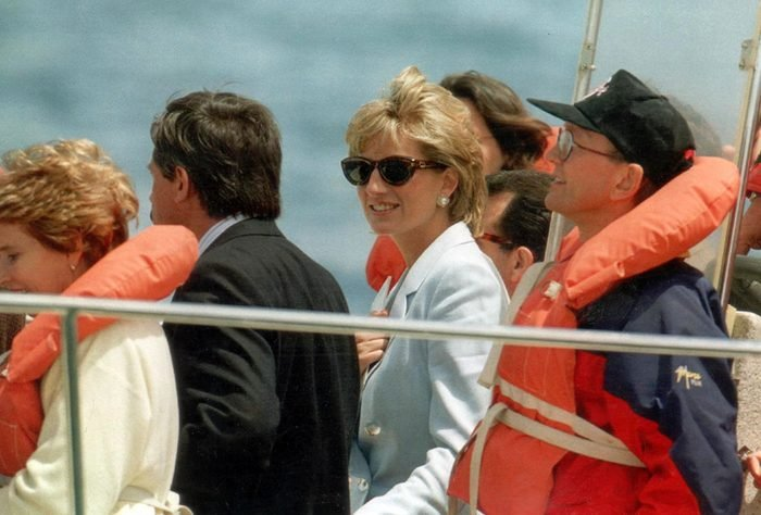 Princess Of Wales In Argentina - Nov 1995