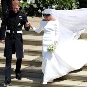 Here's What You Missed About Meghan Markle's Wedding Look