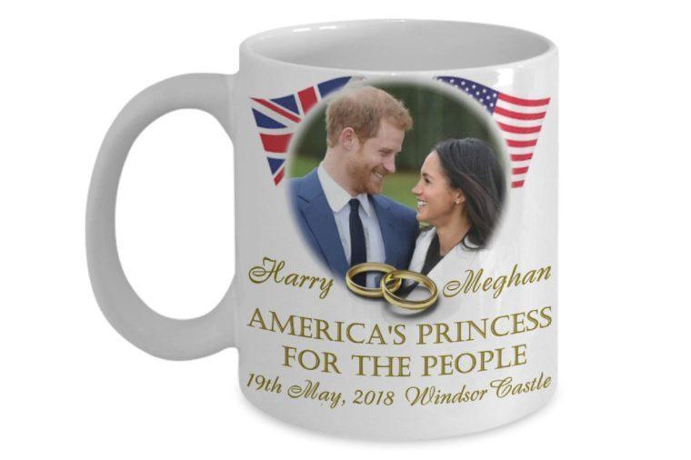 Meghan and Harry wedding mug