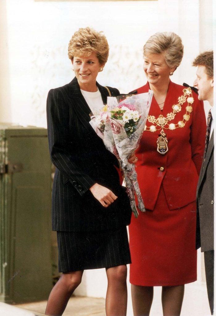 Diana Princess Of Wales Oct-dec 1993