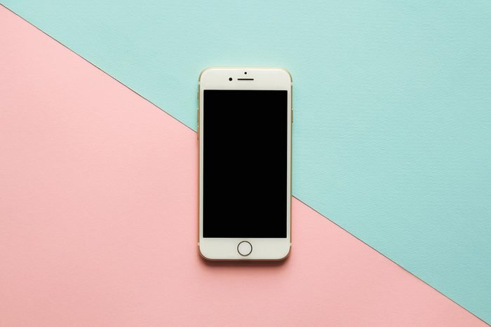 cell phone color background