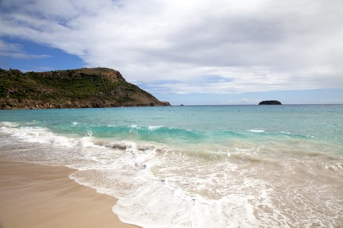 Saline beach, St. Barths, French West Indies